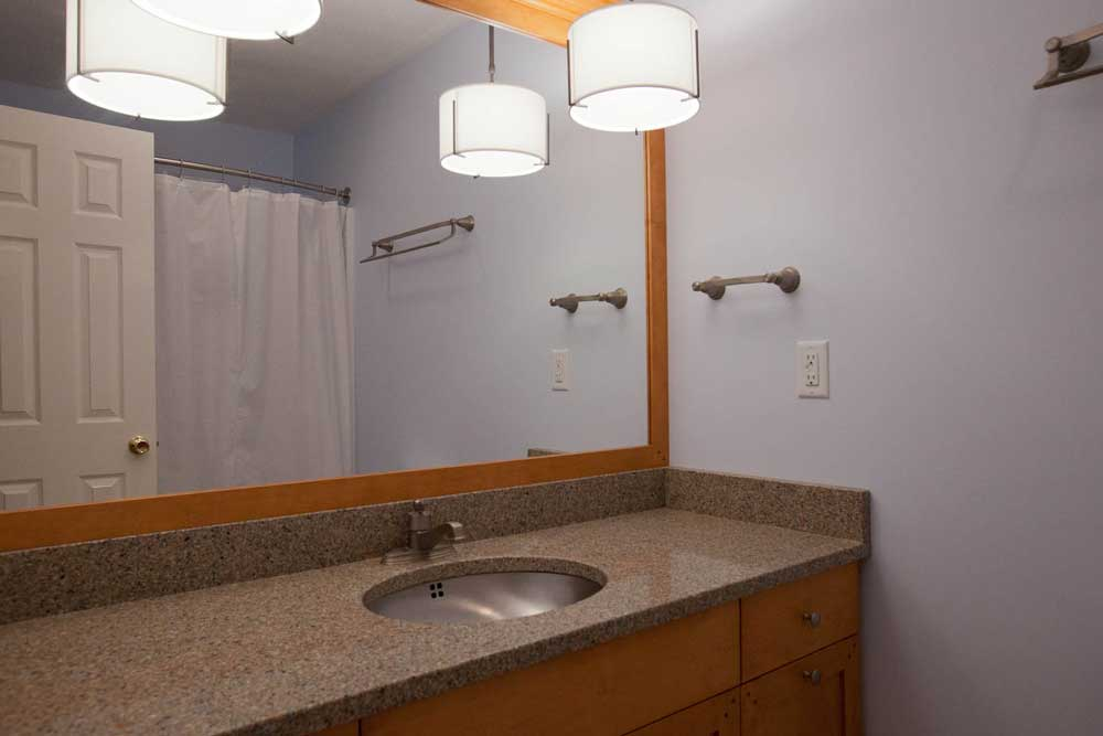 Bathroom Counter and Lighting