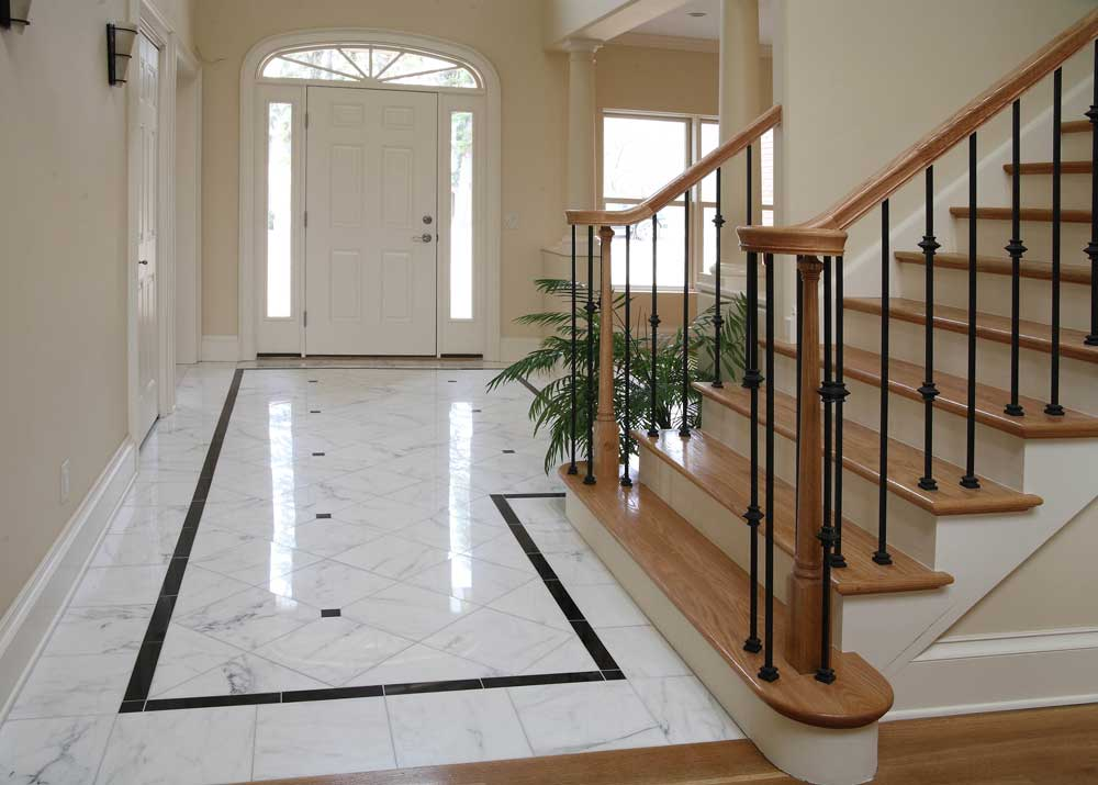 Landing Staircase with Tile